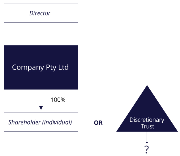 Private Company Structure Diagram